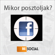 Mesterlövész képzés – időzítsd megfelelően a Facebook posztod!